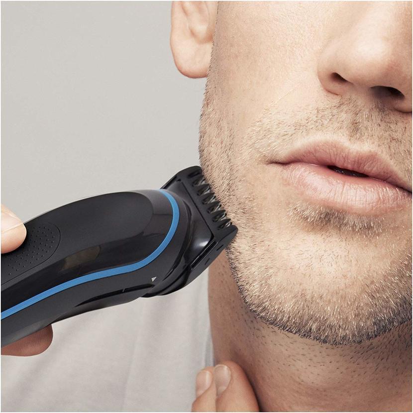 como usar recortadora de barba